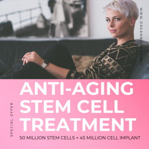 50million mesenchymal stem cells anti aging