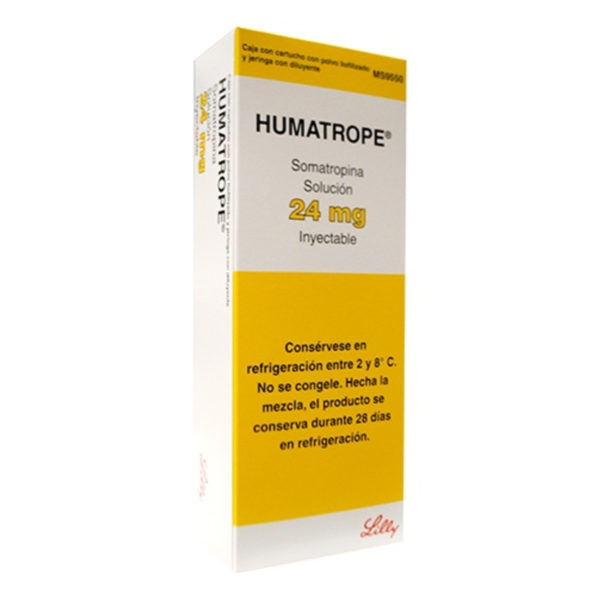 Eli Lilly Humatrope HGH 24mg 72IU Dreambody Clinic