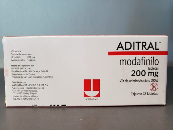 Modafinil Aditral 200mg by ASOFARMA 4 at dreambody clinic