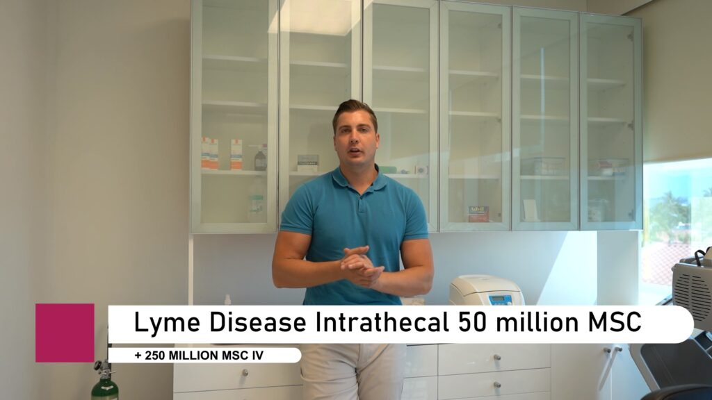 Lyme Disease intrathecal stem cell injection