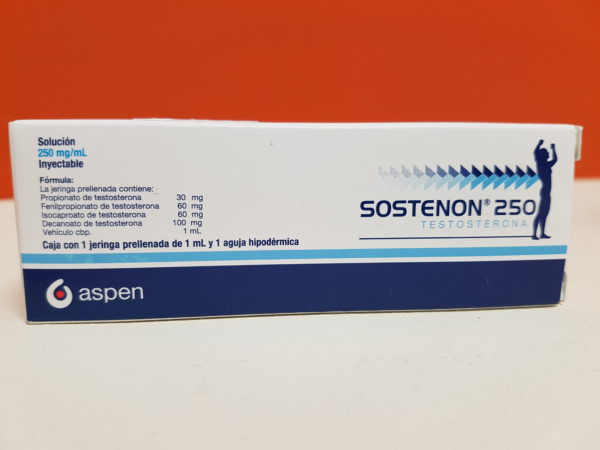 sustenon 250 mg box back