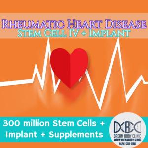 Rheumatic Heart Disease stem cell Treatment dreambody clinic